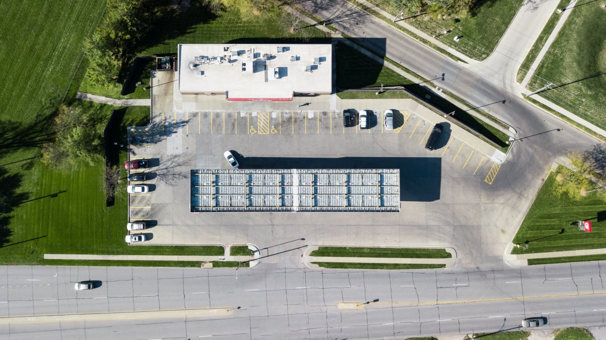 COMMERCIAL – QT Overhead View