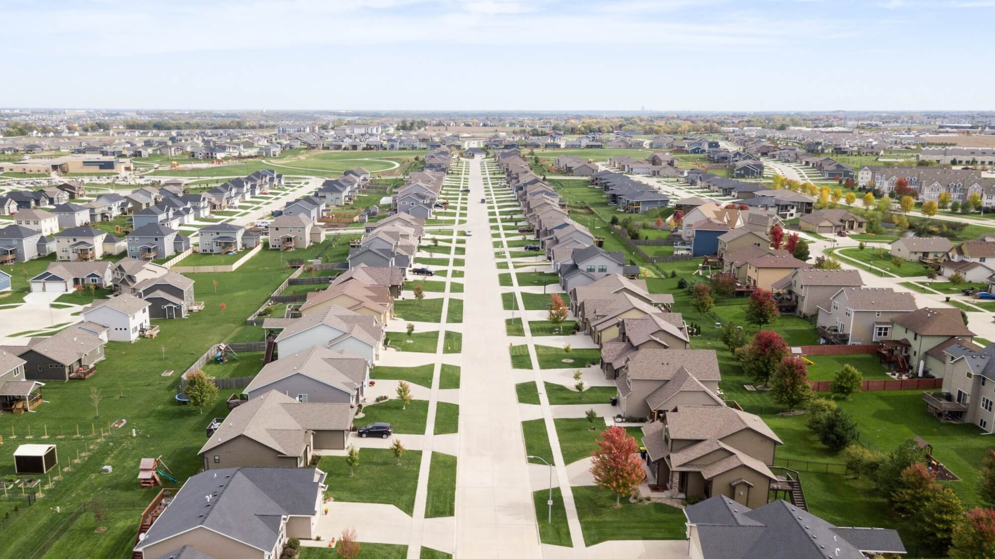 HOUSING – Large Suburban Housing Development